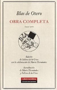 Obras completas de Blas Otero
